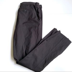 H&M Black dress suit Trouser Pant slim fit 36R